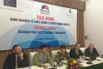 Bỉ chia sẻ kinh nghiệm xử lý vấn đề an toàn thực phẩm với Việt Nam