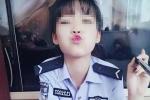 Khoe ảnh dung tục, nữ cảnh sát trẻ xinh đẹp bị đuổi việc