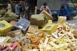 Long An: Tóm gọn hơn 5000 gói thuốc lá ngoại nhập lậu