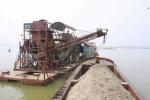 Hà Nội xử lý cát tặc lộng hành trên sông Hồng