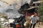 Chập điện, 5 căn nhà chìm trong biển lửa