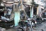 Tiệm sửa xe cháy, 5 xe máy 1 môtô 'khủng' thành tro