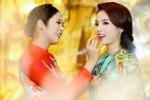 Hoa hậu Kỳ Duyên, Ngọc Hân chăm chút cho nhau trong sự kiện