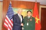 Bộ trưởng Quốc phòng Việt, Mỹ hội đàm tại Singapore