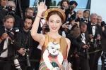 Angela Phương Trinh bị nhầm là Dương Tử Quỳnh tại Cannes