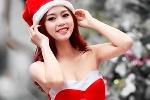 Á khôi ĐH Nội vụ Hà Nội quyến rũ trọng bộ ảnh đón Noel