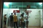 Nhiều máy ATM của Agribank không cho khách rút tiền
