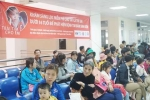 Hơn 2.000 trẻ em được khám sàng lọc bệnh tim miễn phí ở Bình Định