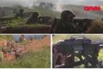 Video: Máy bay, xe tăng quân đội Việt Nam tập trận bắn đạn thật