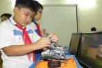 Ráo riết chuẩn bị cho cuộc thi Robot quốc tế