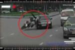 Clip: Lao xe tốc độ kinh hoàng vào đoàn rước dâu