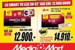 Smart TV 3D 42'' giá chỉ 12,9 triệu đồng