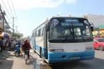 Xe buýt bốc cháy ở Sài Gòn, hàng chục hành khách tháo chạy