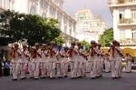 Hàng trăm cảnh sát thế giới 'náo động' đường phố Sài Gòn