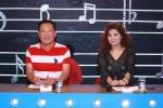 Nhạc sỹ Lê Quang hào hứng cùng NSND Thanh Hoa trên ghế nóng