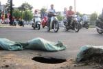 'Hố tử thần' sâu hoắm giữa phố Sài Gòn