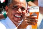 Vì sao ông Obama đi uống bia ngay khi tới Đức?