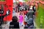 Khám phá nét độc đáo trong phiên chợ Tết xưa ở Hà Nội