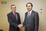 Bộ trưởng Bộ Công an Trần Đại Quang thăm Mỹ