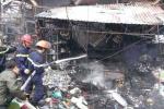 Cháy chợ Nhật Tân: 25 ki ốt thành tro, thiệt hại hơn 2 tỷ đồng