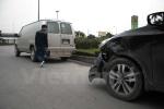 Xe chở phạm nhân gây tai nạn trên phố