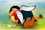 Cảm động những bức tranh tiếc thương em bé Syria chết trên bãi biển