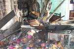 Đốt vàng mã gây cháy nhà ngay giữa phố Kim Mã