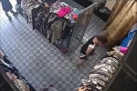 Clip: Quý bà vào shop dàn cảnh trộm đồ, nhét vào 'chỗ kín'