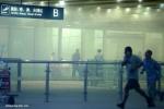 Video: Đánh bom tự sát, sân bay Bắc Kinh rung chuyển