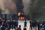 Vụ xe bồn đâm xe khách ở Hòa Bình: Lạnh người lời kể của nhân chứng