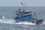 Sóng to gió lớn, một thuyền trưởng thiệt mạng