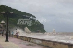 Nơi đầu tiên hứng bão số 7 ở VN đang thế nào?