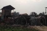 Đã tìm thấy bé gái chết cháy trong khu lán trại công nhân