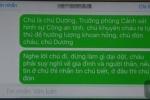 Trưởng phòng CSĐT nhắn tin khuyên hung thủ giết người ra đầu thú