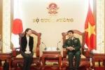 Thượng tướng Võ Văn Tuấn tiếp Trưởng ban Tác chiến Quốc tế Nhật Bản