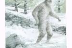 'Người tuyết' bí ẩn xuất hiện ở Nga?