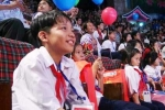 Nụ cười trẻ em Trường Sa đón Trung thu ở Thủ đô