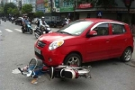 Công an liên tỉnh vào cuộc truy tìm tài xế ôtô gây tai nạn rồi bỏ chạy