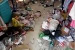 Clip: Choáng với phòng ký túc ngập ngụa rác rưởi của sinh viên nữ Trung Quốc