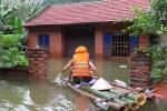 Tận thấy cảnh tượng hãi hùng nơi xã đảo bị nhấn chìm