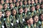 Nụ cười hấp dẫn của những 'người lịch sự' trong lễ duyệt binh ngày Chiến thắng