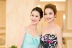 Jennifer Phạm, Dương Thùy Linh vai trần quyến rũ