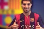 Tin sáng 12/7: Suarez chính thức khoác áo Barcelona