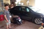 Hà Nội: Kẻ gian đột nhập 'cuỗm' 3 xe máy trong đêm mưa