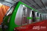 Ngắm mẫu tàu đường sắt đô thị đầu tiên ở Hà Nội