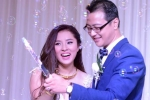 Bảo Trâm rạng ngời hạnh phúc trong lễ cưới ấm cúng