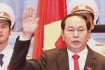 Chủ tịch nước Trần Đại Quang hứa kiên quyết bảo vệ chủ quyền