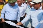 Phó Thủ tướng Nguyễn Xuân Phúc thị sát khắc phục sự số cầu Ghềnh