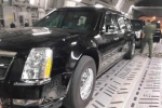 Lộ diện xe chuyên dụng của tổng thống Obama tại sân bay Nội Bài