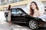 Á hậu Diễm Trang được chồng đưa đón bằng siêu xe hơn 10 tỷ đồng